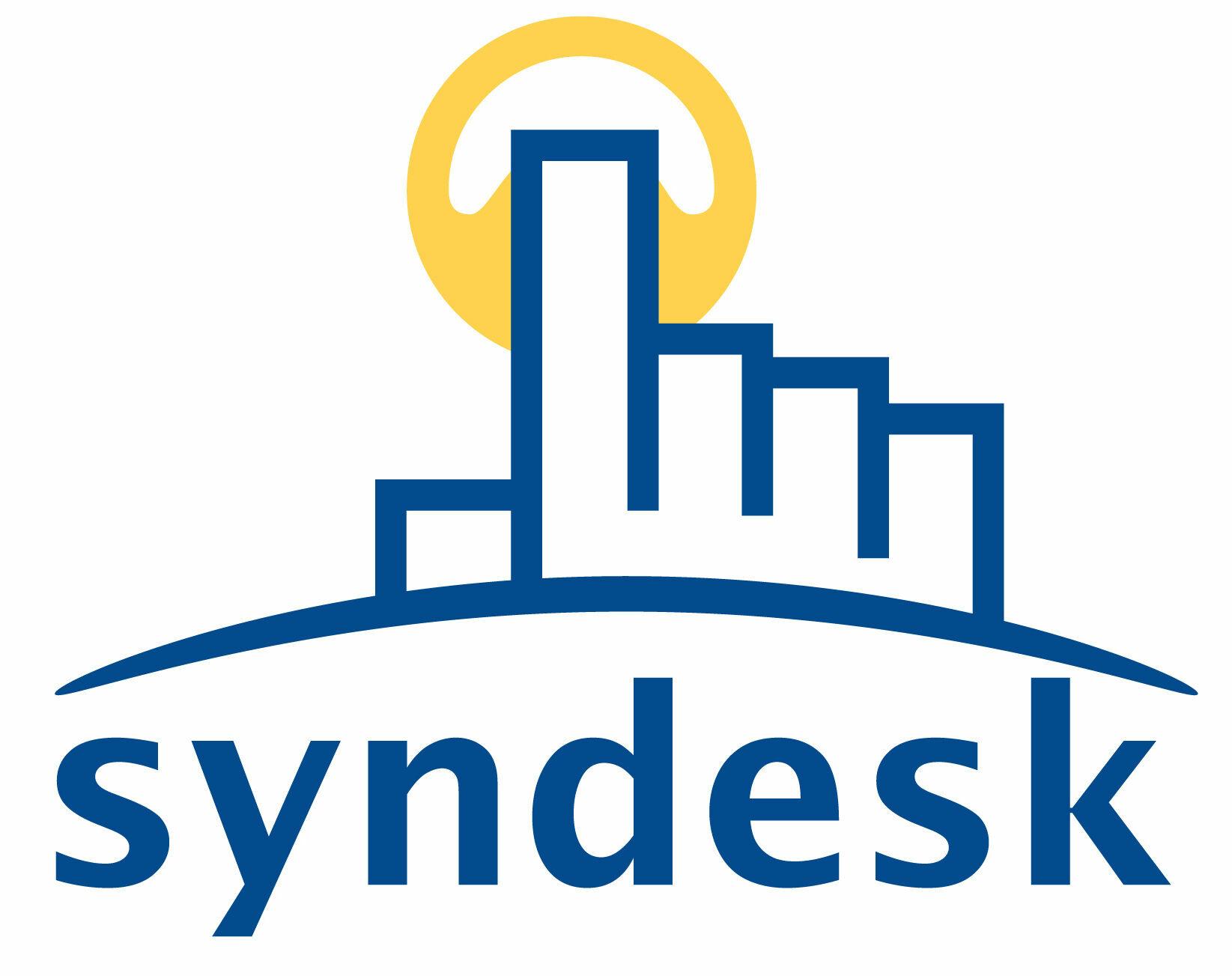 Logo syndesk vector typo RGB